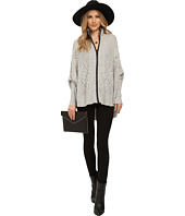 ONLY - Stormy Long Sleeve Zip Knit Poncho