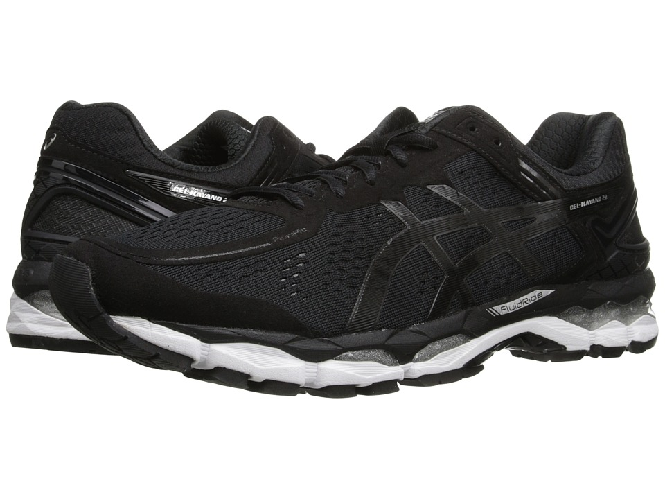 ASICS - GEL-Kayano 22 (Black/Onyx/Silver) Men