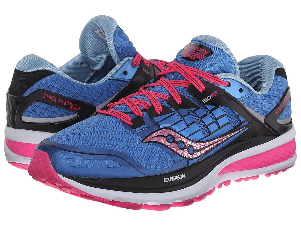 Saucony Triumph ISO 2 (Blue/Pink) Women