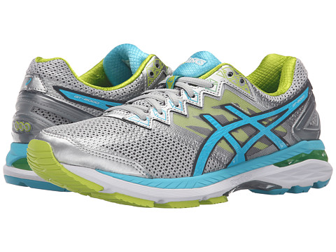 ASICS GT-2000™ 4 - Silver/Turquoise/Lime Punch