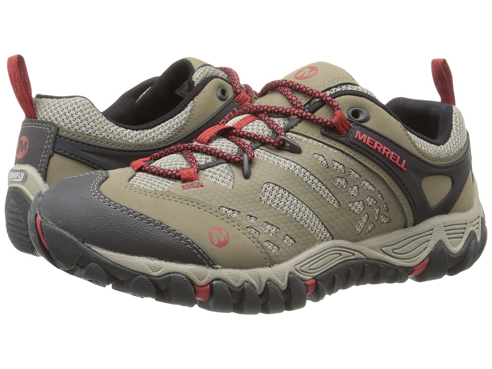 Merrell All Out Blaze Vent Brown Womens Shoes