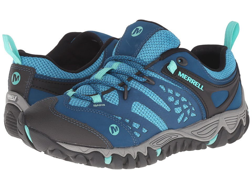 Merrell All Out Blaze Vent Turquoise/Aqua Womens Shoes