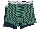 Stripe Stretch Cotton Comfort Boxer Briefs 2-Pack