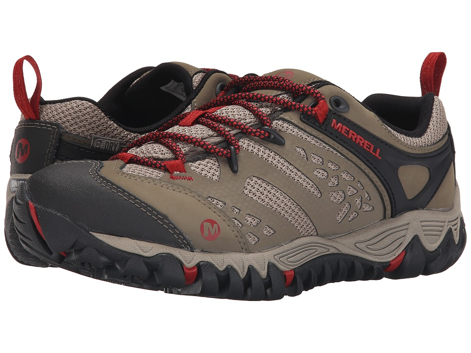 Merrell All Out Blaze Vent Waterproof Brown Womens Shoes