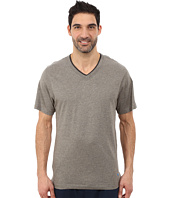Tommy Bahama - Heather Cotton Modal Jersey Knit V-Neck Tee