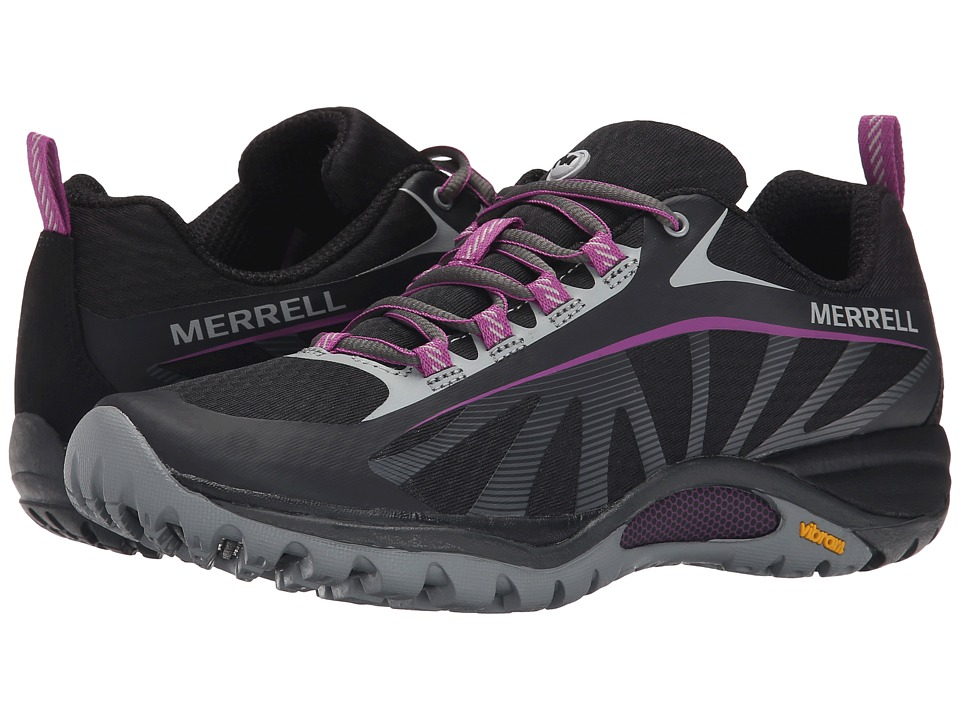 Merrell Siren Edge (Black/Purple) Women's Shoes