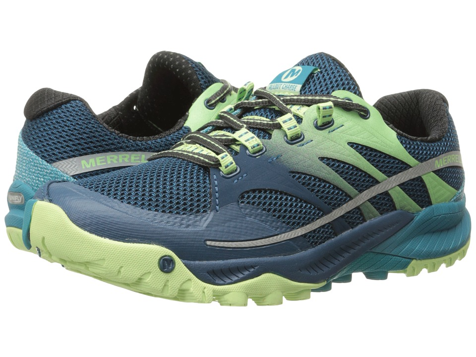 Merrell - All Out Charge (Blue) Women