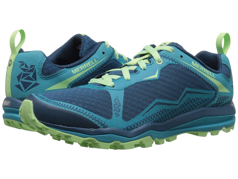 Merrell - All Out Crush Light (Bright Green) Women
