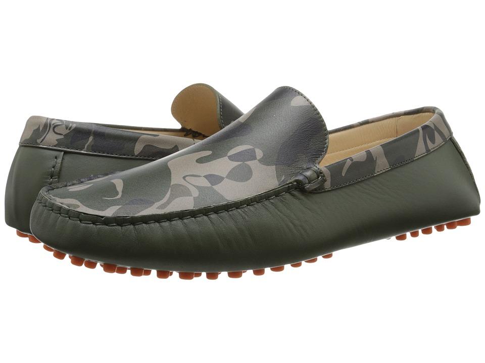 Alexander McQueen Camo Driver Camo Print Mens Shoes