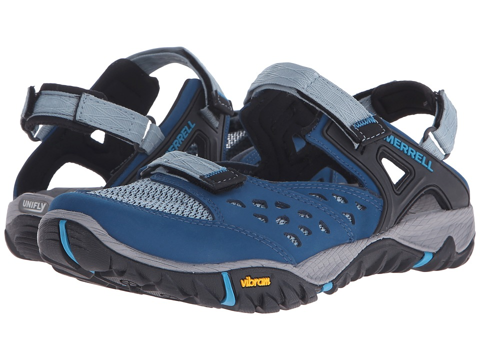 Merrell All Out Blaze Sieve MJ Blue Womens Shoes