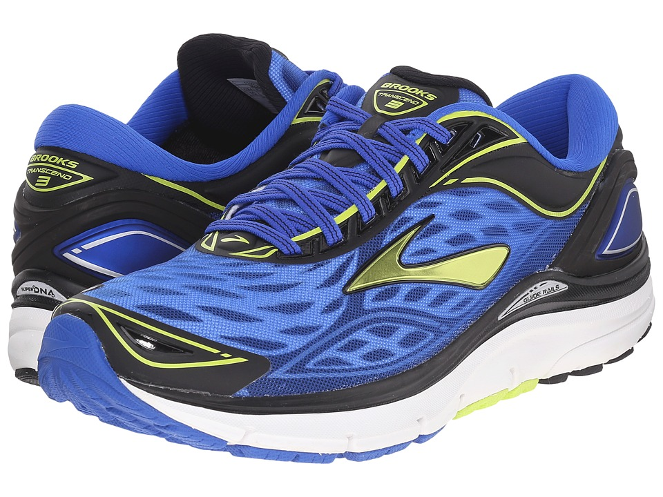 Brooks Transcend 3 (Electric Brooks Blue/Lime Punch/Black) Men