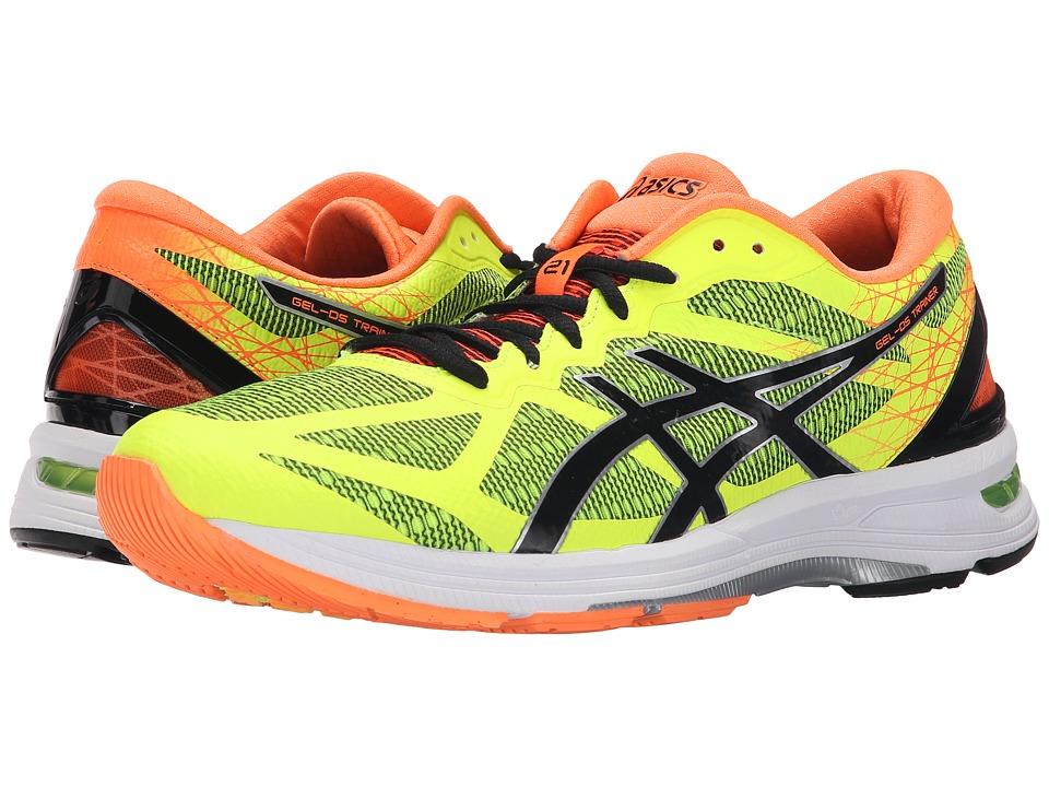 ASICS GEL DS Trainer 21 Flash Yellow/Black/Hot Orange Mens Running Shoes