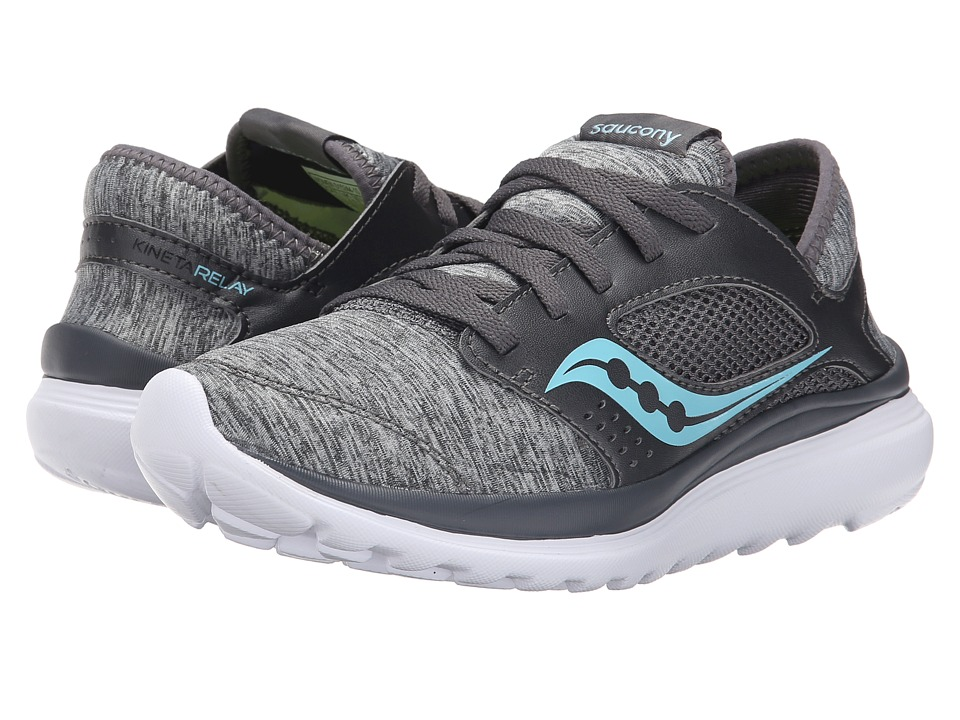 Saucony Kineta Relay (Heather/Blue) Women's Running Shoes