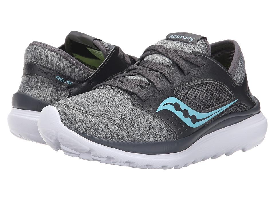 Saucony - Kineta Relay (Heather/Blue) Womens Running Shoes