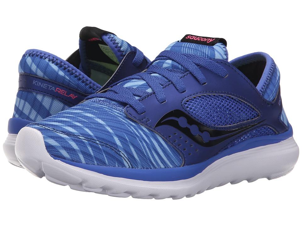 Saucony - Kineta Relay (Blue/Print) Womens Running Shoes