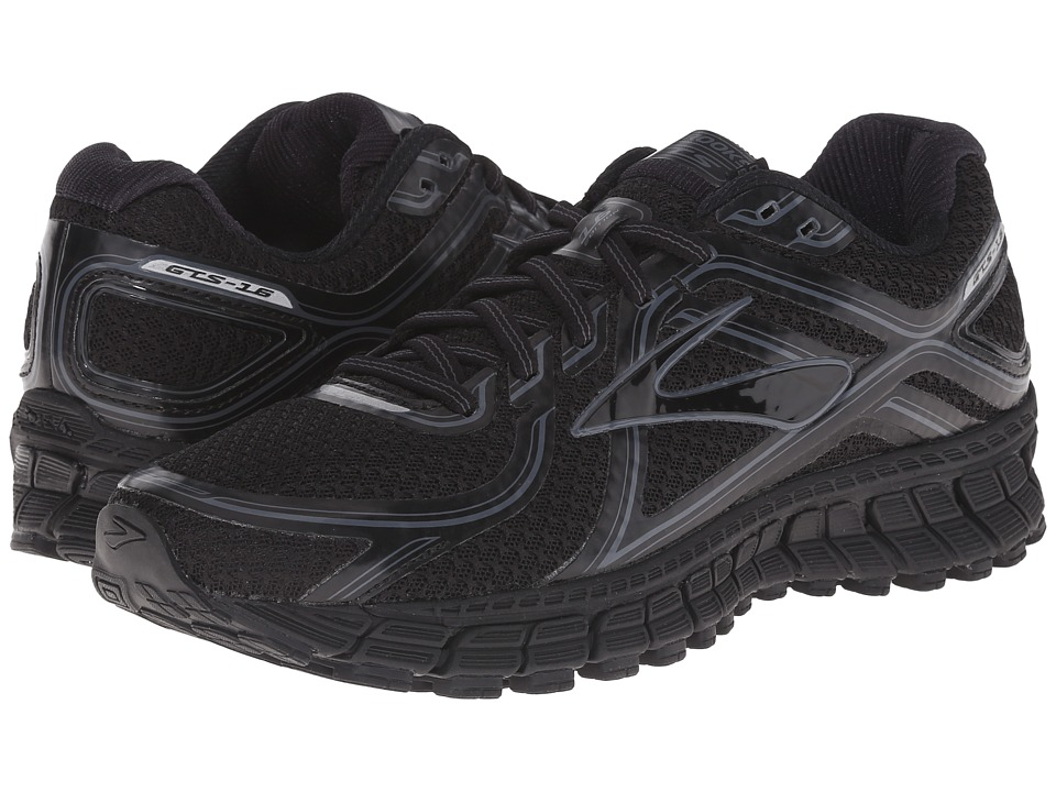 Brooks Adrenaline GTS 16 Black/Anthracite Womens Running Shoes