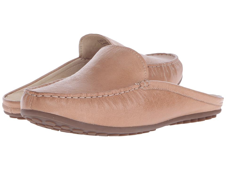 David Tate Lizzy Camel Glazed Buffalo Womens Slip on Shoes
