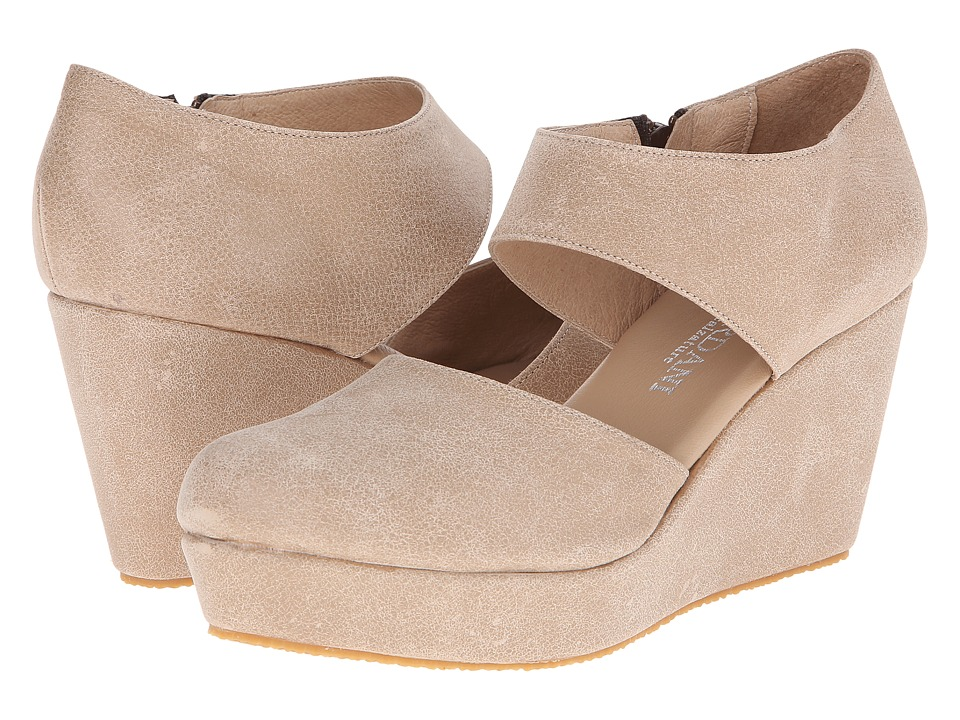 Cordani Fame Natural Vintage Leather Womens Wedge Shoes