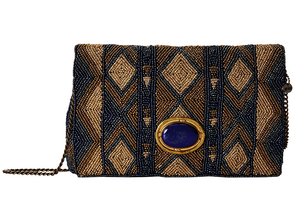 Mary Frances - Urban Nomad (Blue/Gold) Handbags