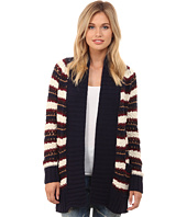 Chaser - Slouchy Open Vintage Sweater Cardigan