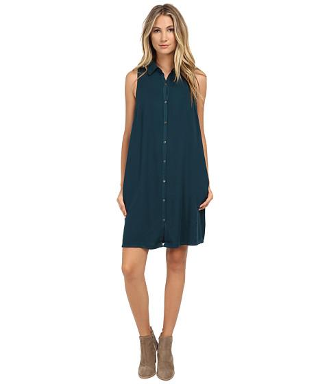 Three Dots Sleeveless Shirtdress