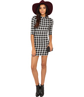 ONLY - Style 3/4 Sleeve Check Dress