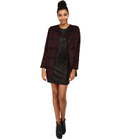 ONLY - Dorothy Checked Wool Coat