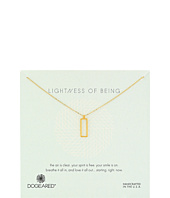 Dogeared - Lightness Of Being Air Rectangle Necklace
