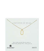 Dogeared - Lightness Of Being Air Hexagon Necklace