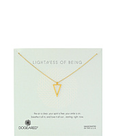 Dogeared - Lightness Of Being Air Triangle Necklace