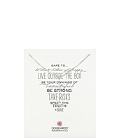 Dogeared - Dare To Little Y Necklace Pearl