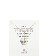 Dogeared - Dare To Little Y Necklace Baby Heart