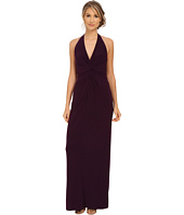 Adrianna Papell - Long Jersey Halter Dress