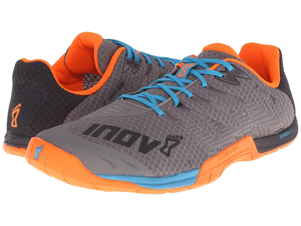 inov 8 F Lite 235 Grey/Blue/Orange Mens Running Shoes