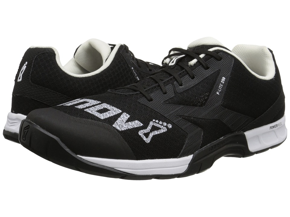 inov 8 F Lite 250 Black/White Mens Running Shoes