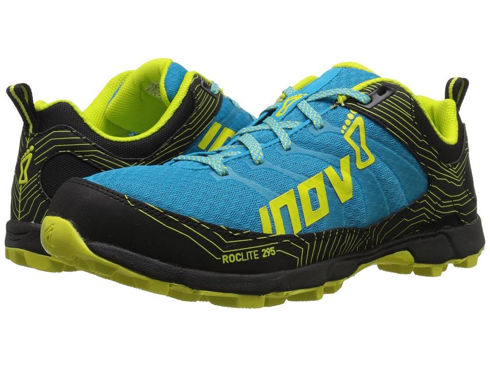 inov 8 Roclite 295 Blue/Black/Lime Mens Running Shoes