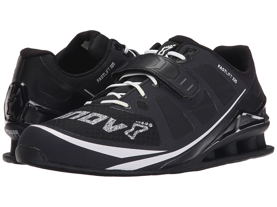 inov 8 FastLift 325 Black/White Mens Running Shoes