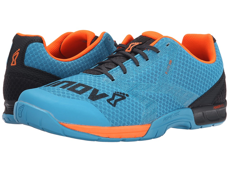 inov 8 F Lite 250 Blue/Grey/Orange Mens Running Shoes