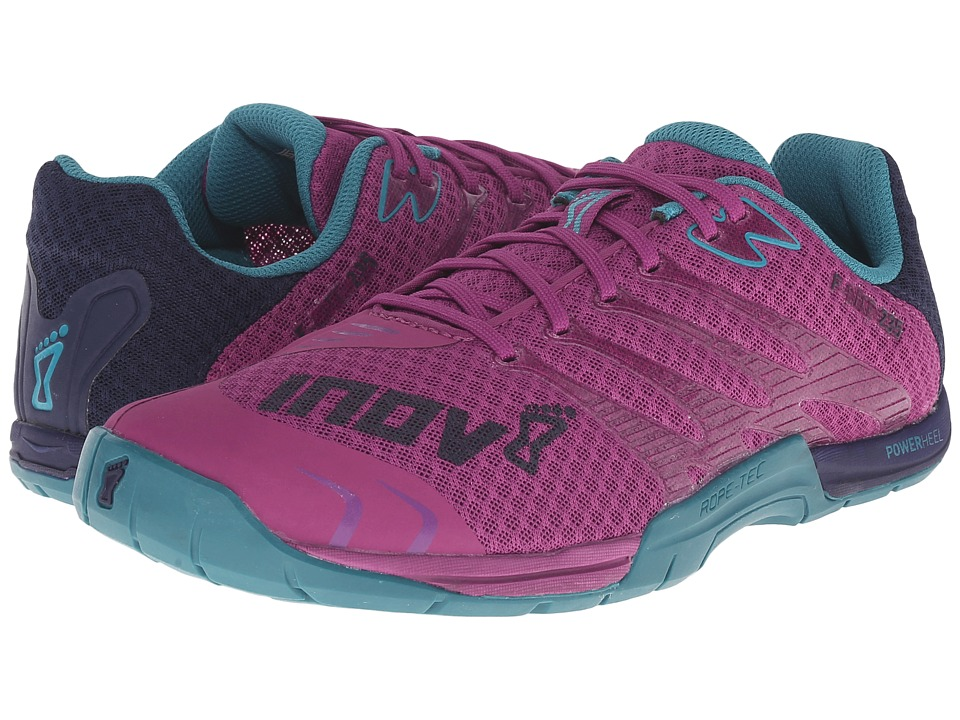 inov 8 F Lite 235 Purple/Teal/Navy Womens Running Shoes