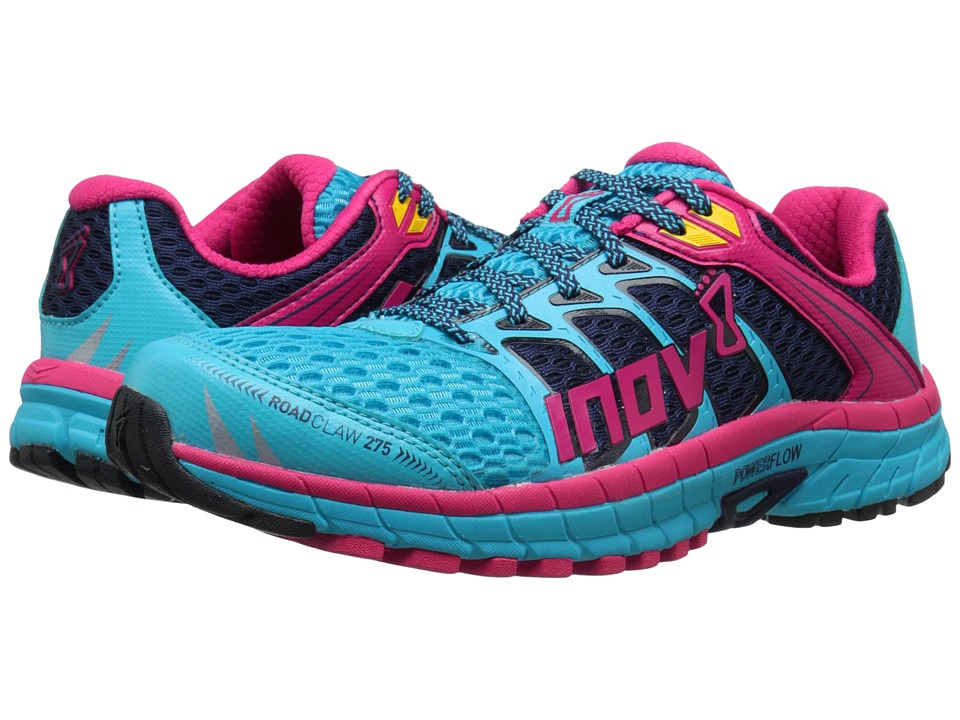 inov-8 - Road Claw 275 (Blue/Navy/Berry) Womens Running Shoes