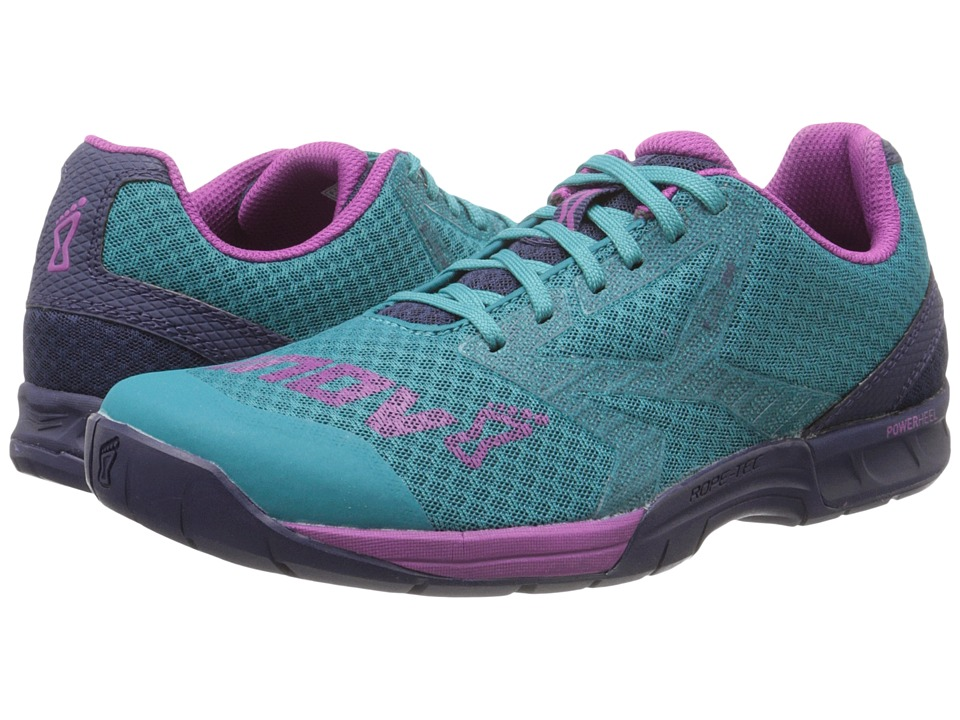 inov 8 F Lite 250 Teal/Navy/Purple Womens Running Shoes