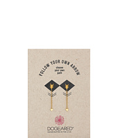 Dogeared - Follow Your Arrow Chain Arrow Earrings
