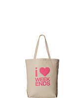 Dogeared &#45; I <3 Weekends Big Tote