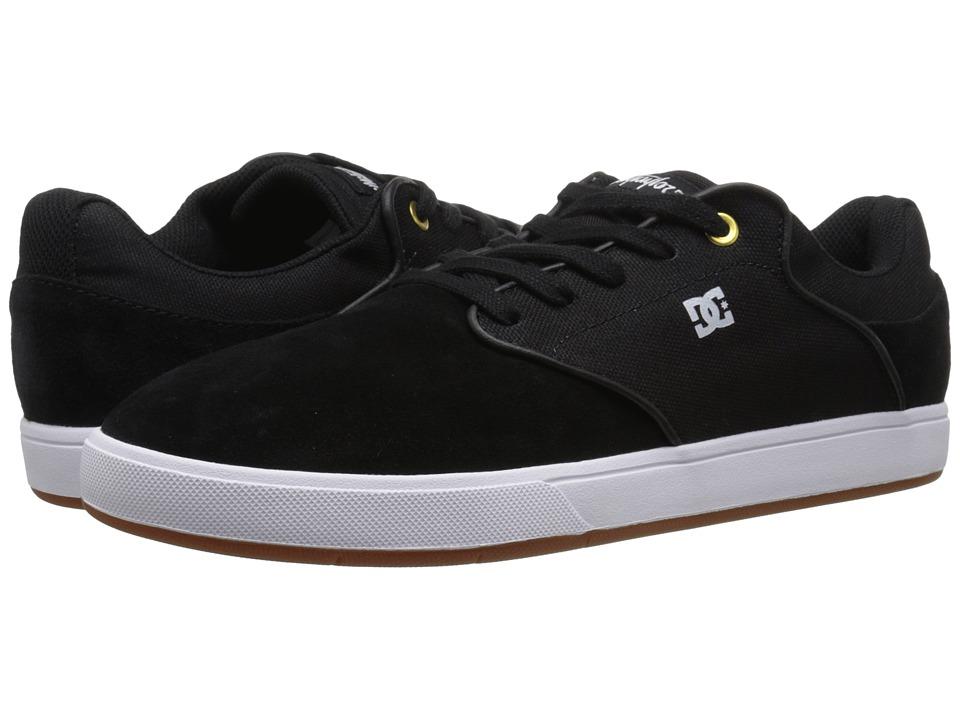 DC Mikey Taylor (Black/White/Gum) Men's Skate Shoes