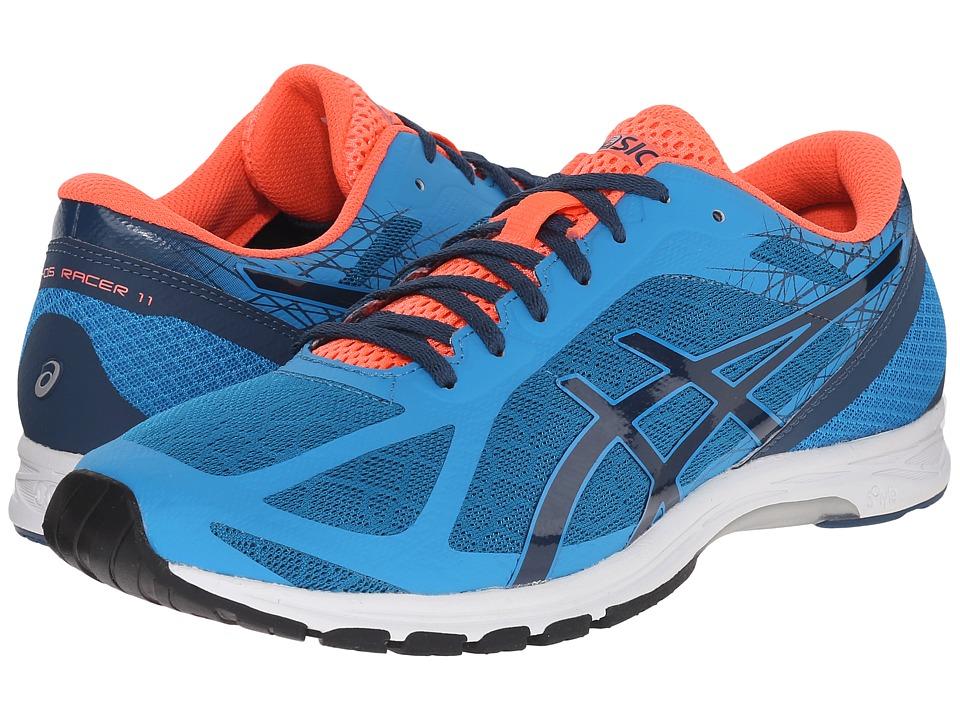 ASICS - GEL-DS Racer 11 (Methyl Blue/Ink/Flash Coral) Mens Running Shoes