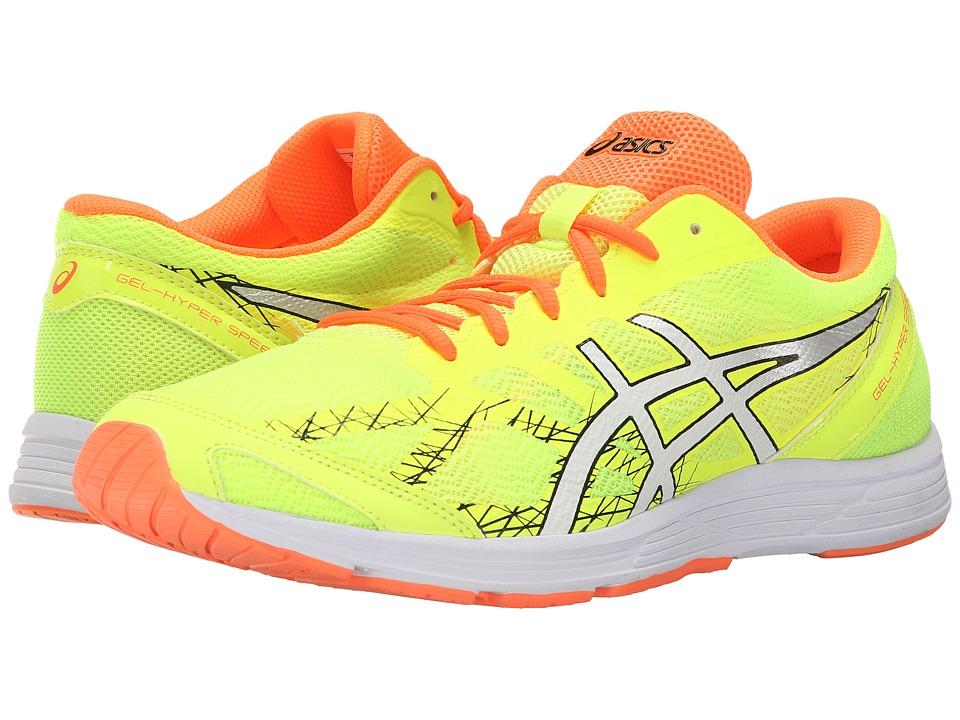 ASICS GEL Hyper Speed 7 Flash Yellow/Black/Hot Orange Mens Running Shoes
