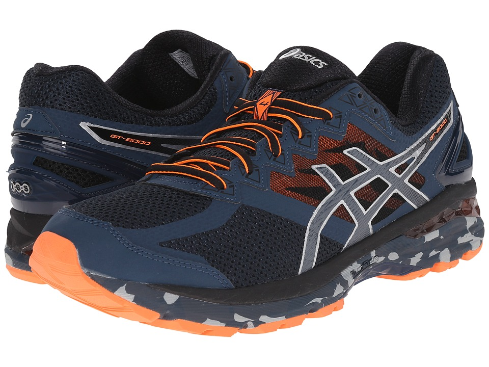 ASICS GT-2000 4 Trail (Mediterranean/Dark Slate/Hot Orange) Men