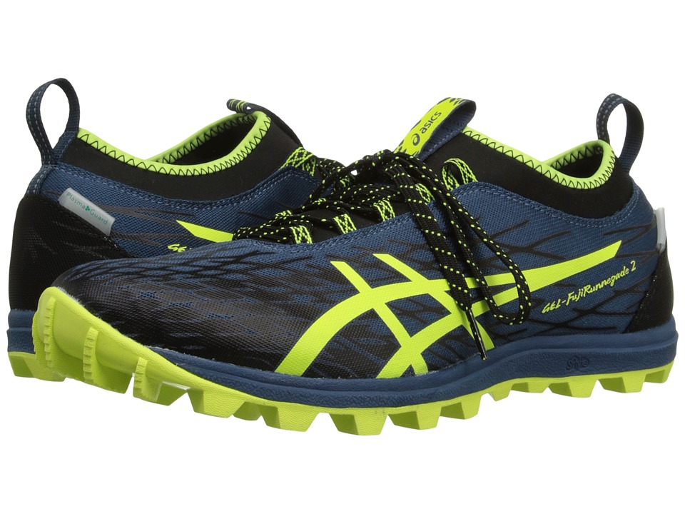 ASICS GEL-FujiRunnegade 2 (Mediterranean/Flash Yellow/Black) Men