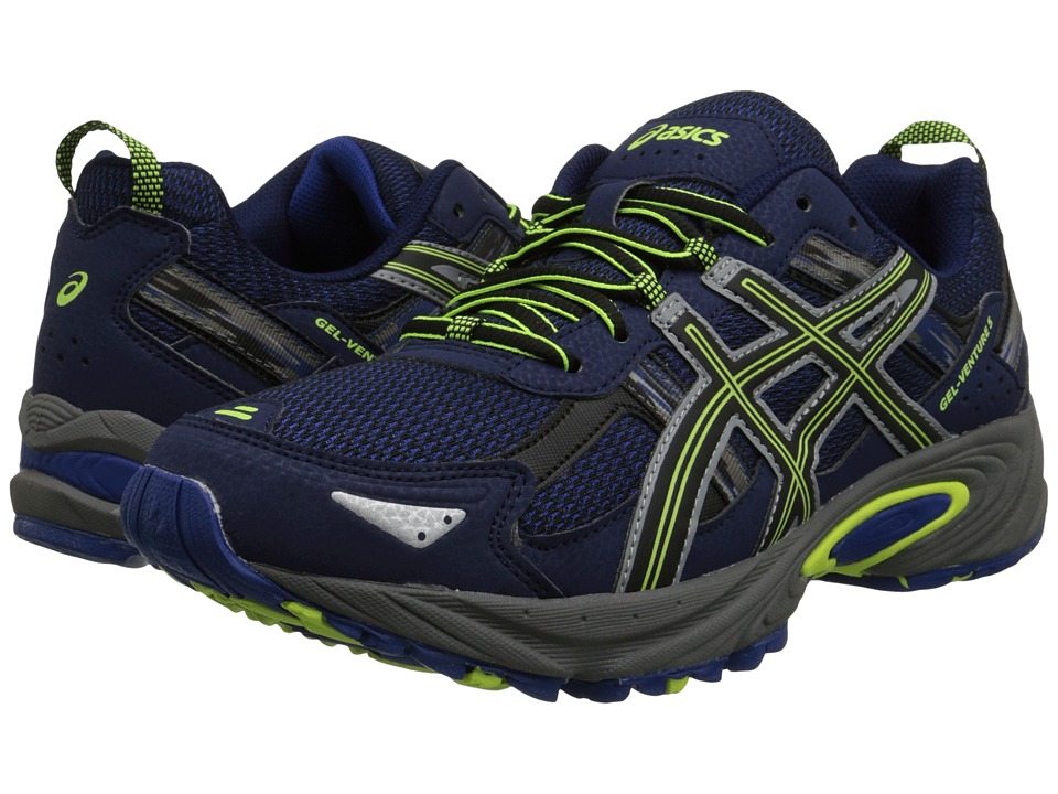 ASICS Gel-Venture 5 (Indigo Blue/Black/Flash Yellow) Men