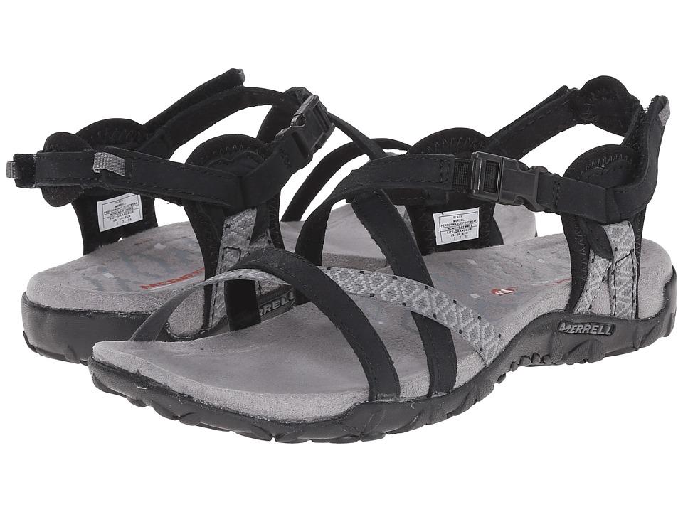 Merrell - Terran Lattice II (Black) Womens Shoes